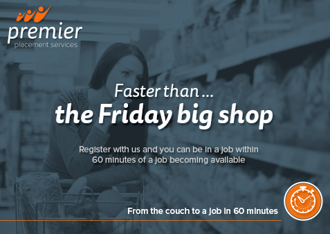 Faster than the Friday big shop - find jobs in Staffordshire and Cheshire