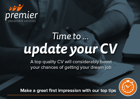 Ten steps to writing a successful CV