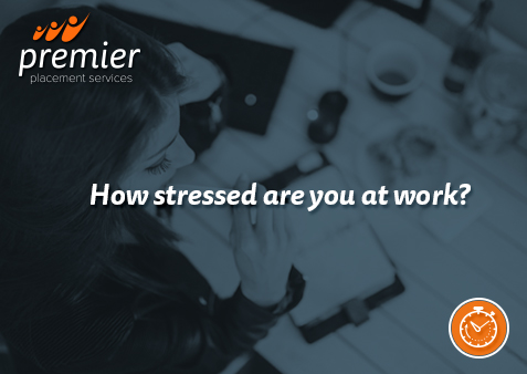 How stressed are you at work?